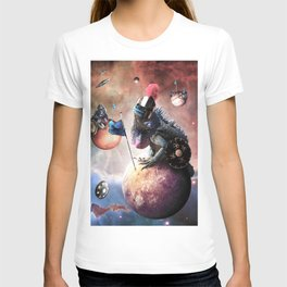 Funny Space Lizard T-shirt