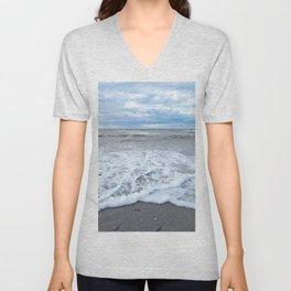 The Sea at my Feet Unisex V-Neck