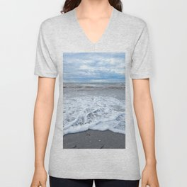 The Sea at my Feet Unisex V-Neck