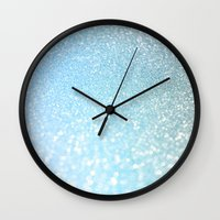 bisexual Wall Clocks featuring Diamonds are girls best friends I by Better HOME