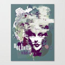 Pop star Canvas Print