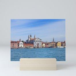 Venice - Salute from the sea Mini Art Print
