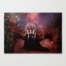 The Roses Eaters Canvas Print