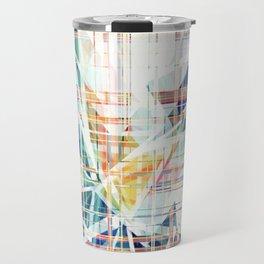 GeoGlitch Travel Mug