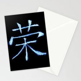 Chinese 'Honor' - Lightning Paint Stationery Cards