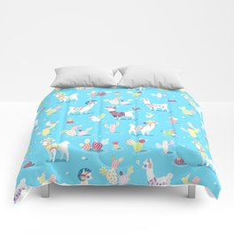 Alpaca Pattern Comforters