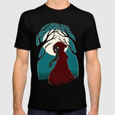 Red Riding Hood 2 Mens Fitted Tee LARGE Black