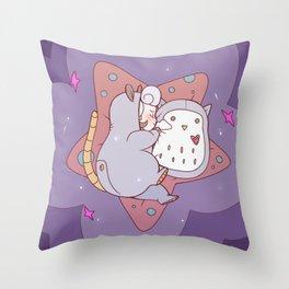 Opal Sleeping Throw Pillow