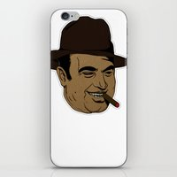 scarface iPhone & iPod Skins featuring Scarface by hasteeism