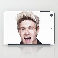 niall horan iPad Cases featuring Niall Horan - One Direction by jrrrdan