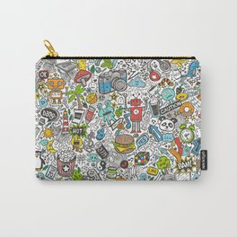 Comic Pop art Doodle Carry-All Pouch