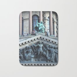 Apic Bronze works of art of the facade of St. Isaac's Cathedral. Bath Mat