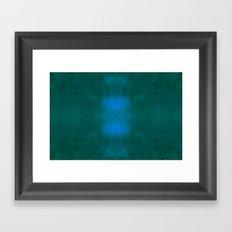 Blue / Green Framed Art Print