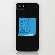 Merder's Post-it Wedding (Grey's Anatomy) Slim Case iPhone (5, 5s)