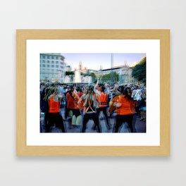 Raining Lean Boll Caboose Framed Art Print