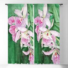 Orchid Cascade Blackout Curtain