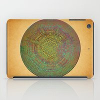 labyrinth iPad Cases featuring Labyrinth by Klara Acel