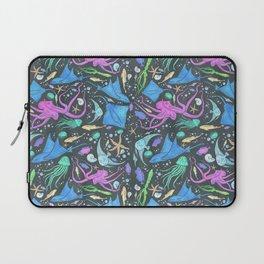 Colorful Marine Life Diversity Laptop Sleeve