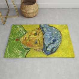 Portrait of Camille Roulin, by Vincent van Gogh Rug