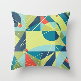 Without Any Address Throw Pillow