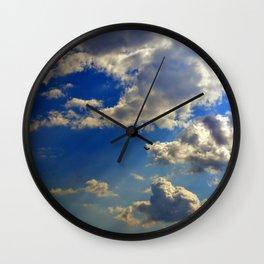 crepuscular rays Wall Clock