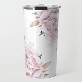 Pink Roses Duet Travel Mug