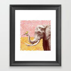 New Friends 2 by Eric Fan & Garima Dhawan Framed Art Print