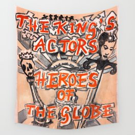 Heroes of the Globe Wall Tapestry