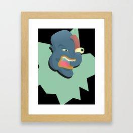 Blame Framed Art Print
