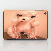 poodle iPad Cases featuring Pearl Poodle by Vintage  Cuteness