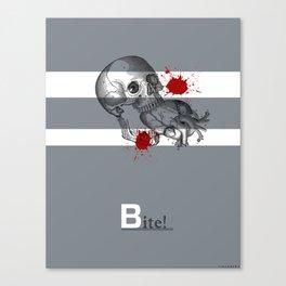 Bite! Canvas Print