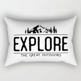 Explore the Great Outdoors Rectangular Pillow