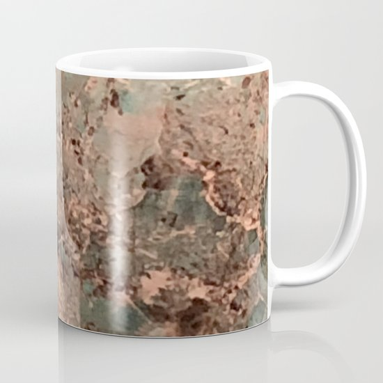 Marble Emerald Copper Blue Green by beautifulhomes