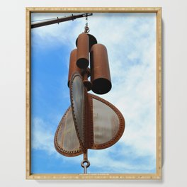 Wind Chimes for Giants Serving Tray