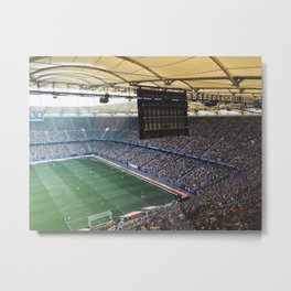 Volksparkstadion Metal Print