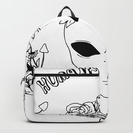 humans aren't real Backpack