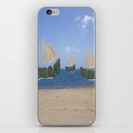 I Saw Three Ships On Christmas Day #Christmas iPhone Skin