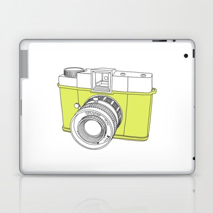 Diana F+ Glow - Plastic Analogue Camera Laptop & iPad Skin
