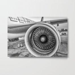 Engine-uity! Metal Print