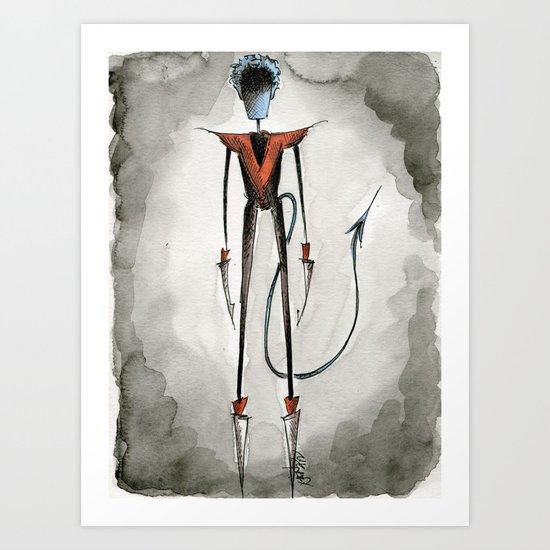 Kurt Wagner Art Print