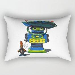 Robot-Bob Rectangular Pillow