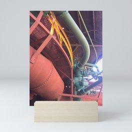 Furnace pipes Mini Art Print