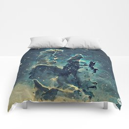 ALTERED Pillars of Creation Comforters