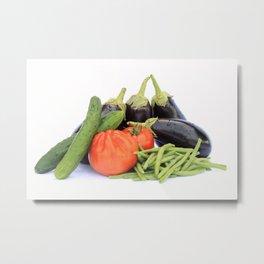 Vegetables together Metal Print