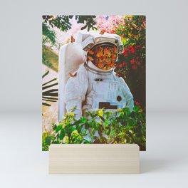 At The Garden Mini Art Print
