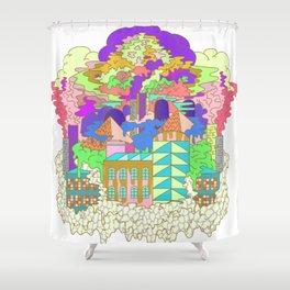 Acid Factory Shower Curtain