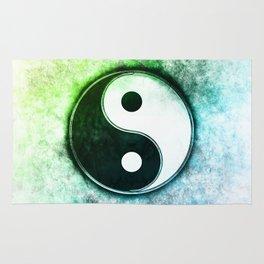 Yin Yang - Mossy Summer Pond Rug