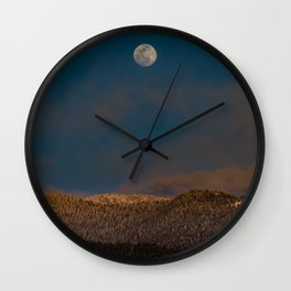 Colorado Moonrise Wall Clock