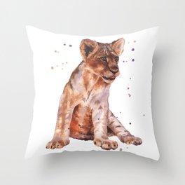 Serengeti Slouch Throw Pillow