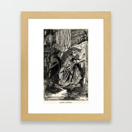 A Beastly Scourge? Framed Art Print